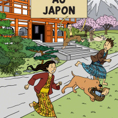 Tintin in Japan Book Cover