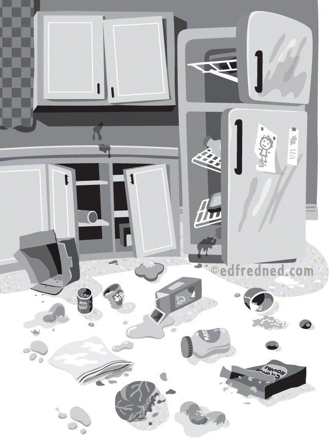 kitchen Mess