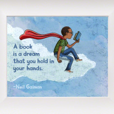 Neil Gaiman Reading Quote