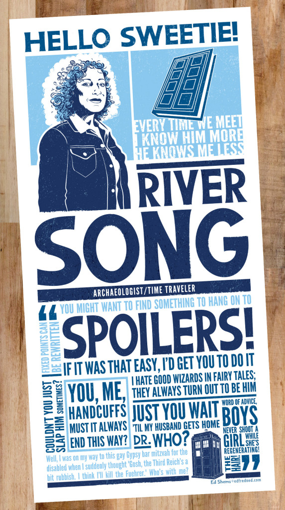 River Song Poster