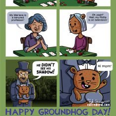 Groundhog Day comic